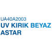 UA40A2003 UV KIRIK BEYAZ ASTAR