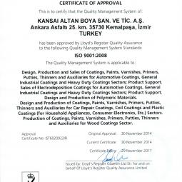 Akzo Nobel ISO 9001 (EN)