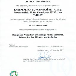 Akzo Nobel ISO 16949