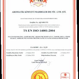Aromatik ISO 14001