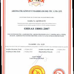 Aromatik ISO 18001
