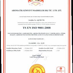 Aromatik ISO 9001