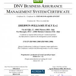 Sayerlack ISO 9001