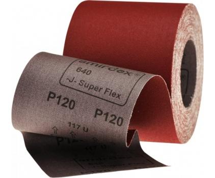 640 J-Kalite Süper Flex Rulo Zımpara 116mmx25mt